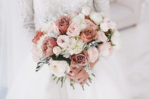 Beautiful,Bride,With,Bouquet.
